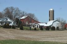 Amish farm along Route 120, Shipshewana, IN